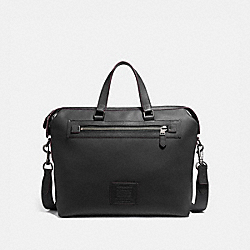 ACADEMY HOLDALL - BLACK/BLACK COPPER FINISH - COACH 32251