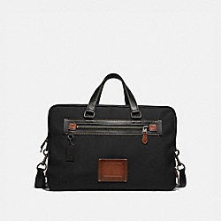 ACADEMY DAY BAG - BLACK/BLACK COPPER FINISH - COACH 32258