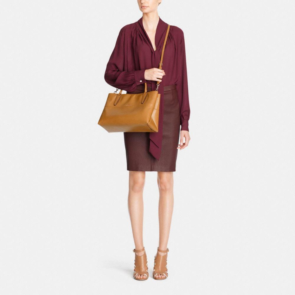 Soft Borough Bag in Nappa Leather  - Alternate View M