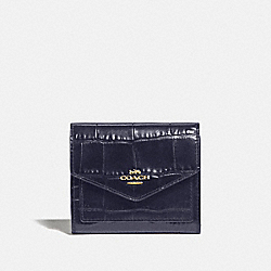 SMALL WALLET - GD/INK - COACH 32486