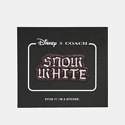 DISNEY X COACH スノー ホワイト ステッカー
