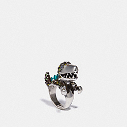 REXY COCKTAIL RING - SV/MULTI - COACH 32559