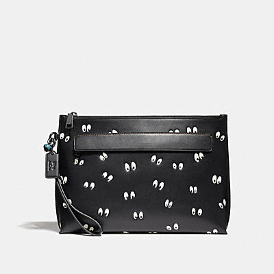 DISNEY X COACH CARRYALL SPOOKY EYES(陰森大眼)印花手袋