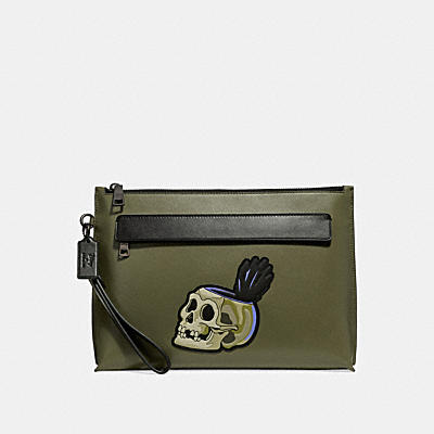 DISNEY X COACH CARRYALL SKULL(骷髏)手袋