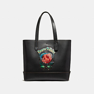 DISNEY X COACH GOTHAM POISON APPLE(毒蘋果)托特手袋