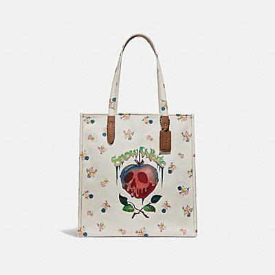 DISNEY X COACH POISON APPLE(毒蘋果)托特手袋