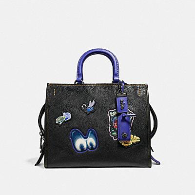 DISNEY X COACH ROGUE 徽章手袋
