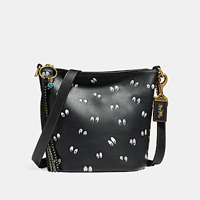 DISNEY X COACH DUFFLE 20 SPOOKY EYES(陰森大眼)印花手袋