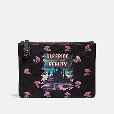 DISNEY X COACH 26 SLEEPING BEAUTY(睡美人)轉扣手袋