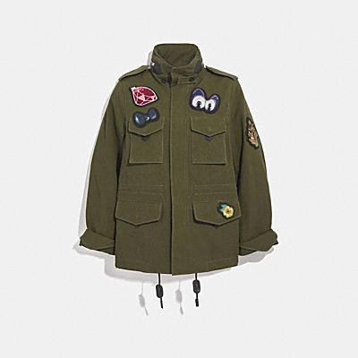 디즈니 X 코치 M65 자켓
