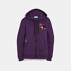 DISNEY X COACH DOPEY HOODIE - PURPLE - COACH 33224