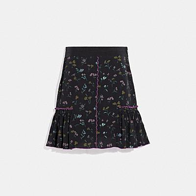 プリンテッド スカート