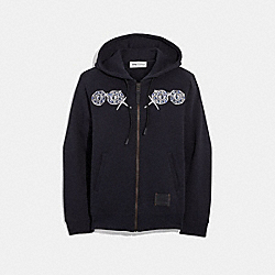 DISNEY X COACH BASHFUL HOODIE - DARK SHADOW - COACH 33348