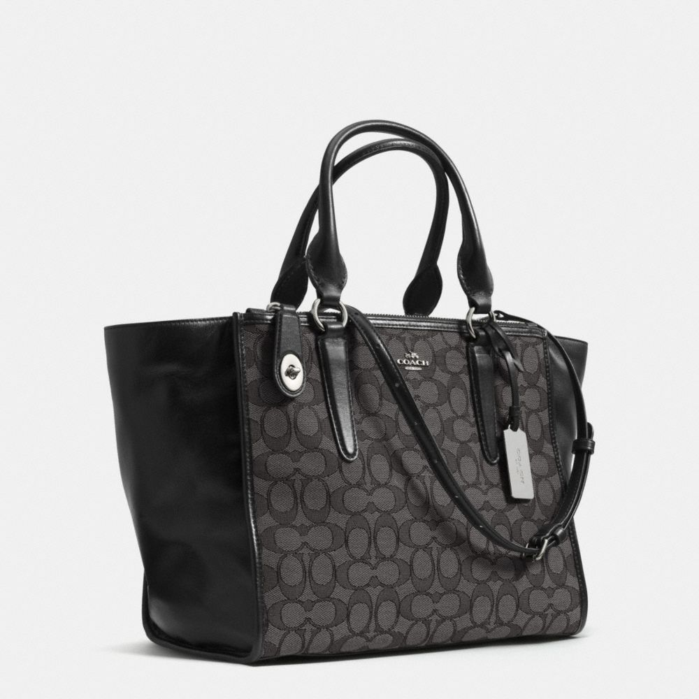CROSBY CARRYALL IN SIGNATURE JACQUARD - Alternate View A2