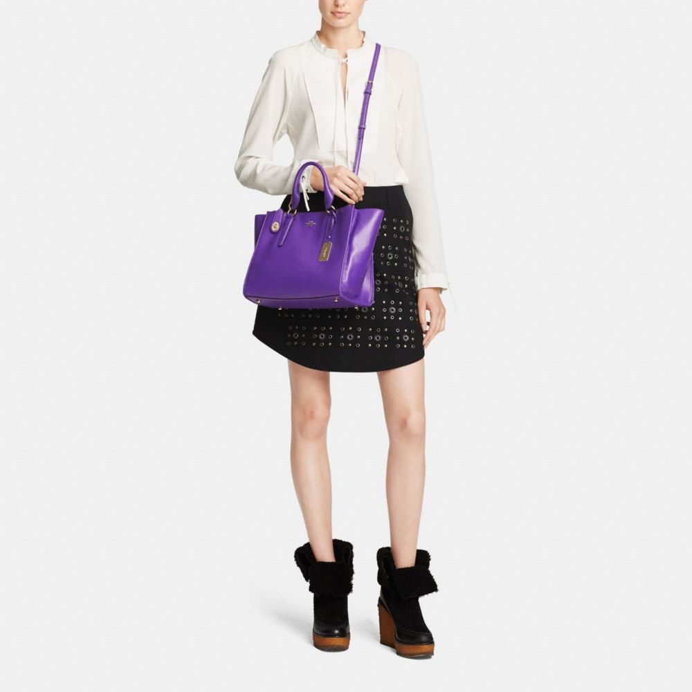 CROSBY CARRYALL IN LEATHER - Alternate View