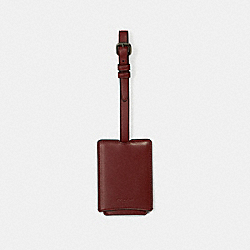 LUGGAGE TAG - RED CURRANT - COACH 33700