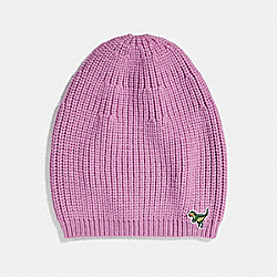 KNIT REXY HAT - ROSE - COACH 34258