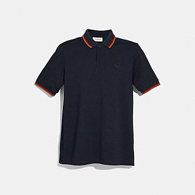 REXY 徽章POLO衫