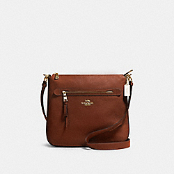 MAE FILE CROSSBODY - IM/REDWOOD - COACH 34823