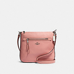 MAE FILE CROSSBODY - SV/LIGHT BLUSH - COACH 34823