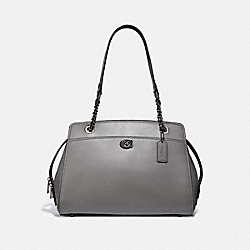 PARKER CARRYALL - HEATHER GREY/GUNMETAL - COACH 35575