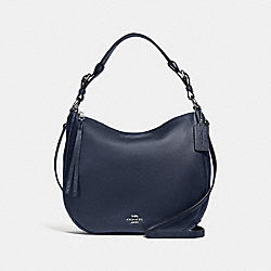 SUTTON HOBO - SV/MIDNIGHT NAVY - COACH 35593