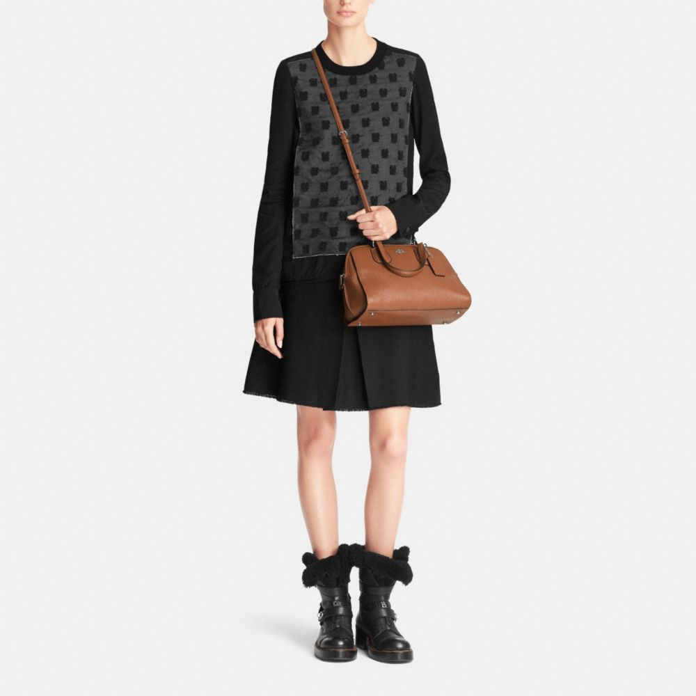 Nolita Satchel in Pebble Leather - Alternate View M