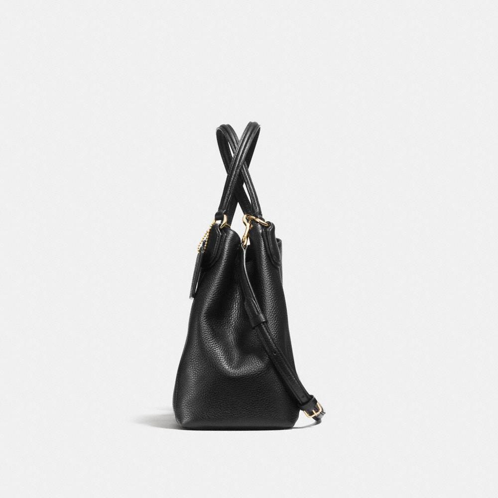 Edie Shoulder Bag 28 in Pebble Leather - Alternate View A1