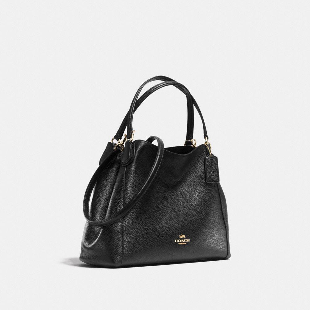 Edie Shoulder Bag 28 in Pebble Leather - Alternate View A2