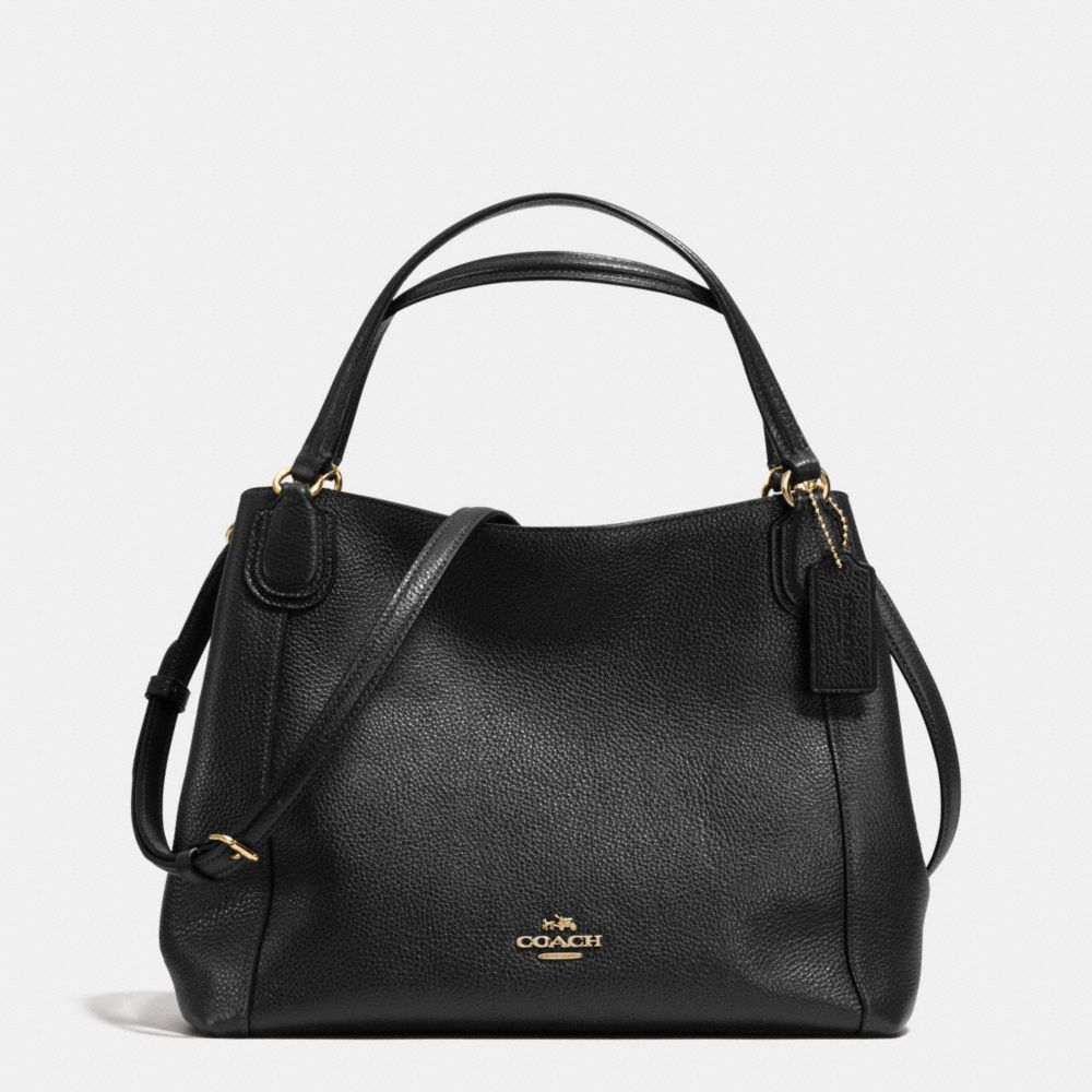EDIE SHOULDER BAG 28 IN PEBBLE LEATHER - Alternate View