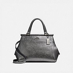 GRACE BAG - METALLIC GRAPHITE/DARK GUNMETAL - COACH 36086