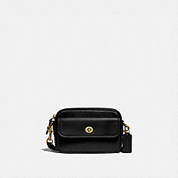 CONVERTIBLE WAIST PACK - B4/BLACK - COACH 3640