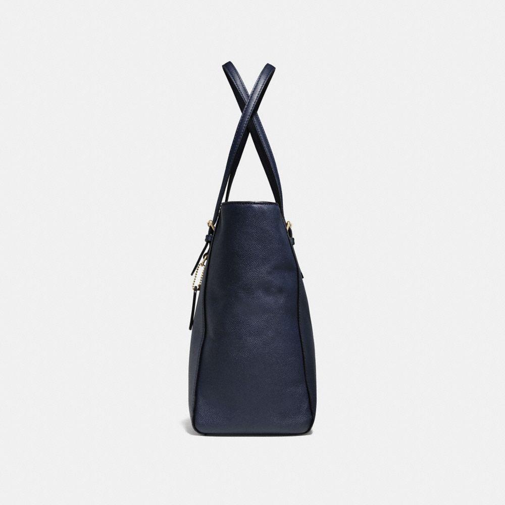 Turnlock Baby Bag in Crossgrain Leather - Alternate View A1