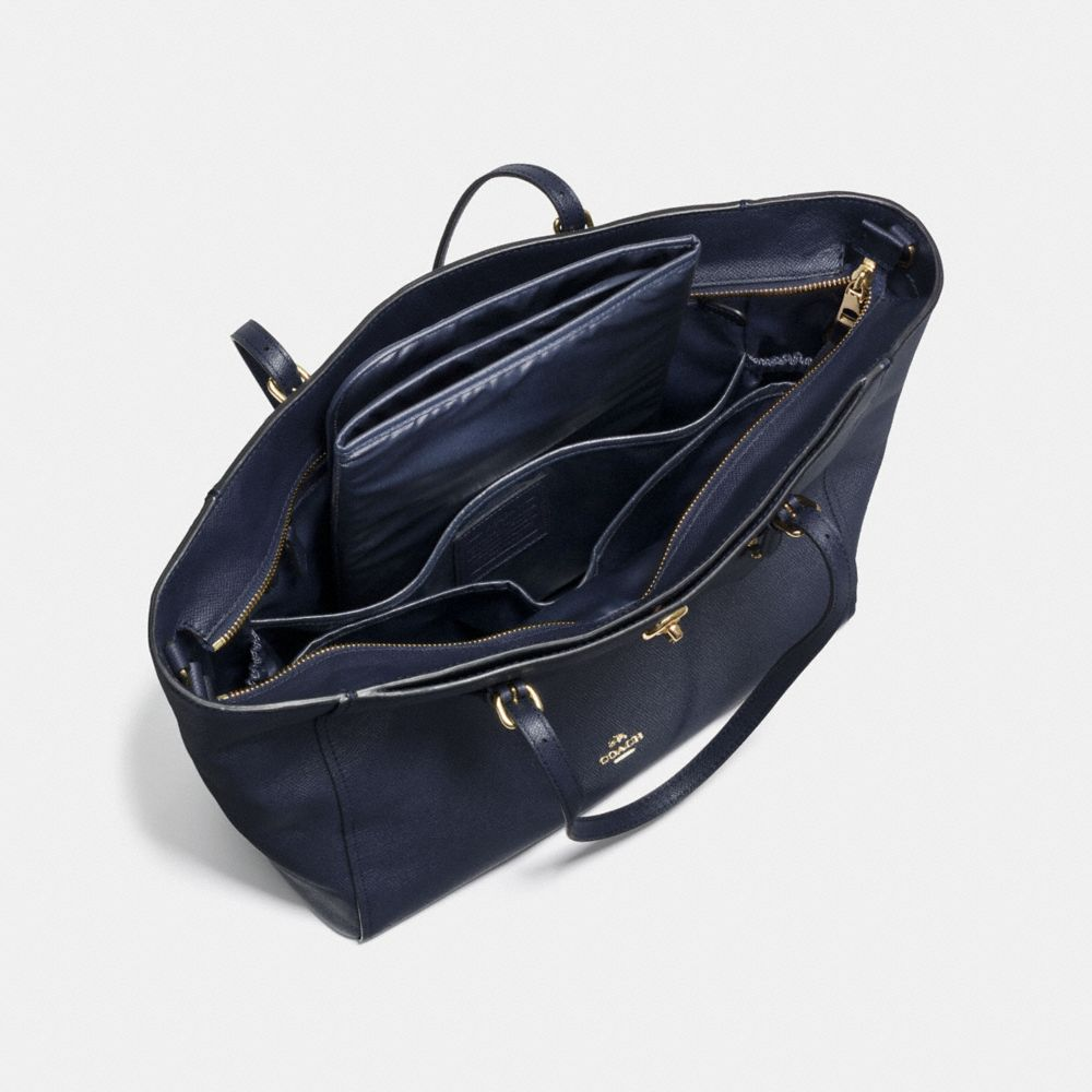 Turnlock Baby Bag in Crossgrain Leather - Alternate View A3