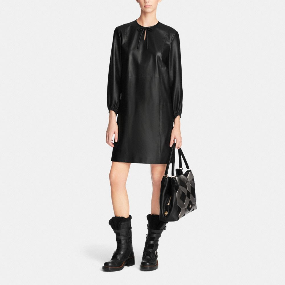 Edie Shoulder Bag 31 in Patchwork Leather - Alternate View M