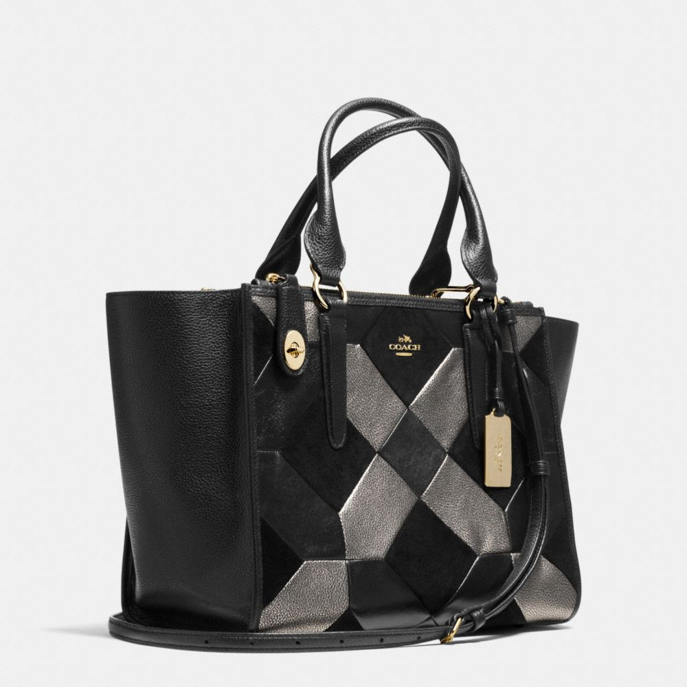 CROSBY CARRYALL IN PATCHWORK LEATHER - Alternate View A2