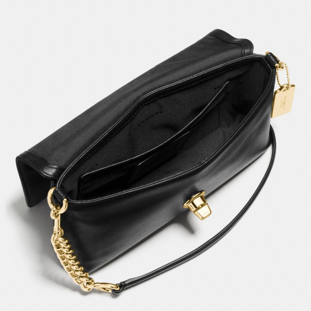 Pave Crosstown Crossbody in Leather - Alternate View A1