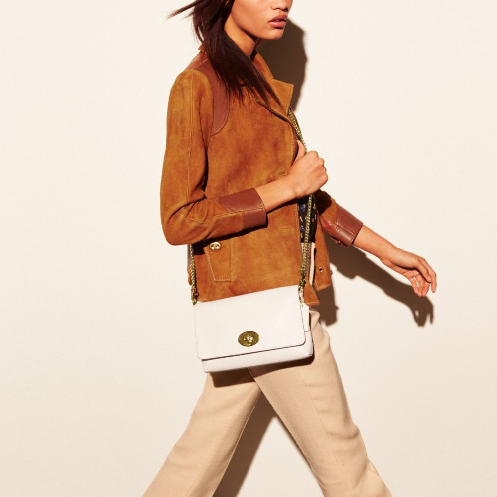Crosstown Crossbody in Smooth Calf Leather - Alternate View A2