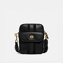 DYLAN 15 WITH VARSITY STRIPE - OL/BLACK - COACH 3683