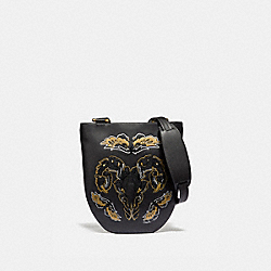SLING BAG WITH TATTOO - BLACK/BRASS - COACH 36851