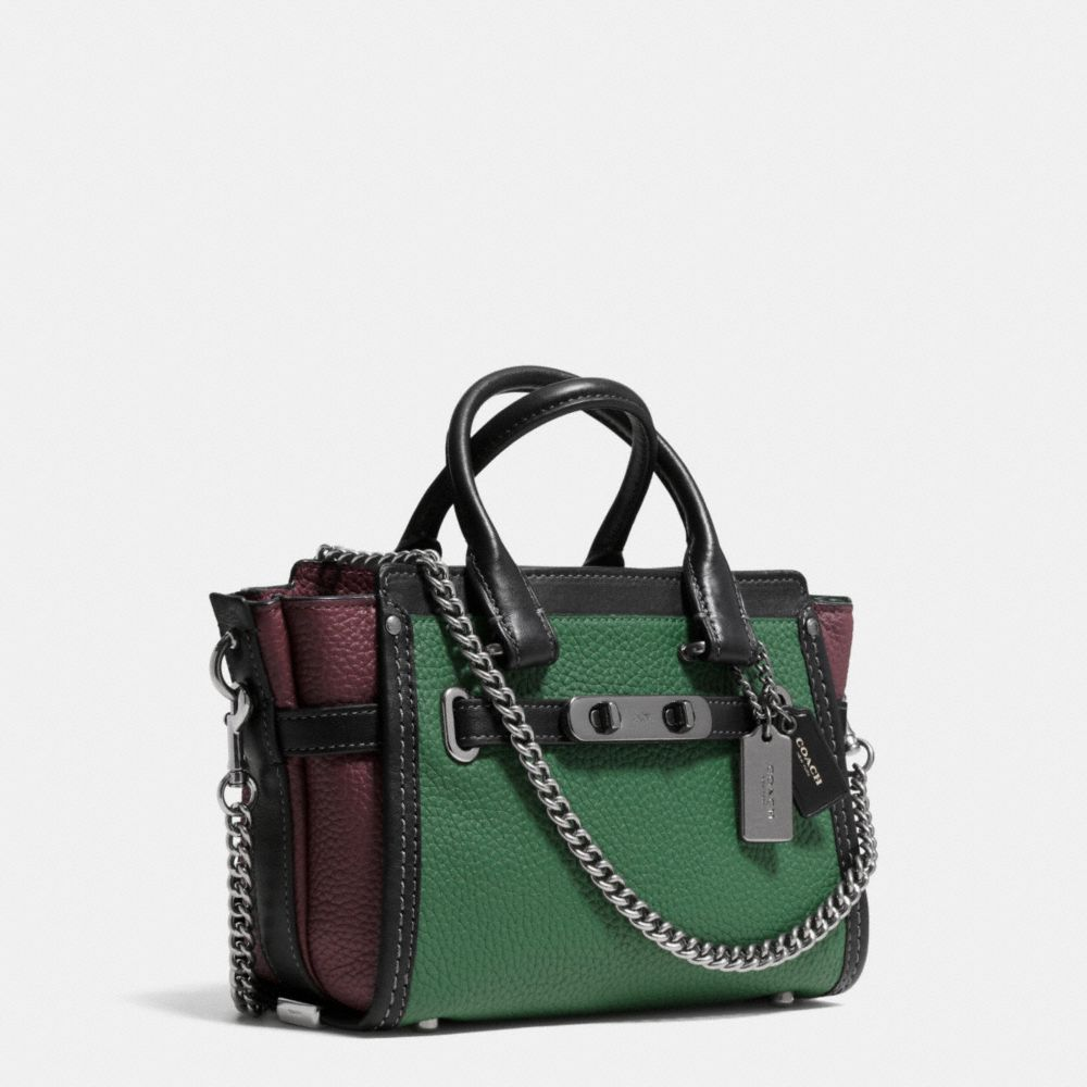 Coach Swagger 20 With Chain in Pebble Leather - Alternate View A2