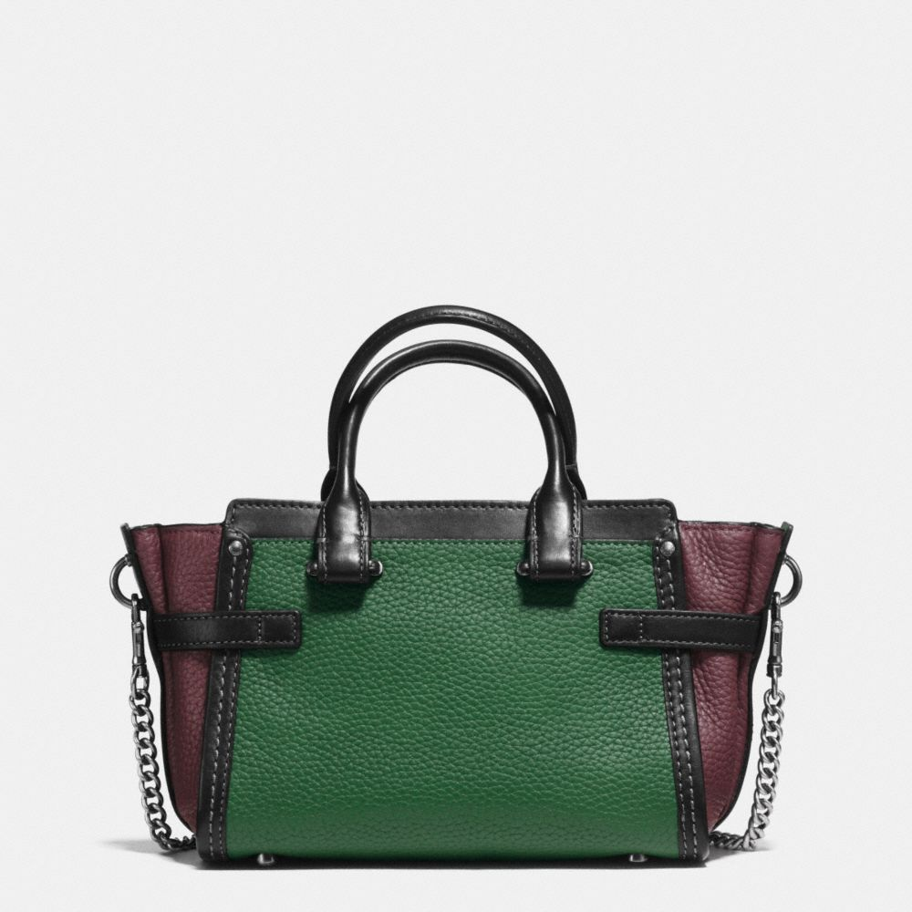 Coach Swagger 20 With Chain in Pebble Leather - Alternate View A3