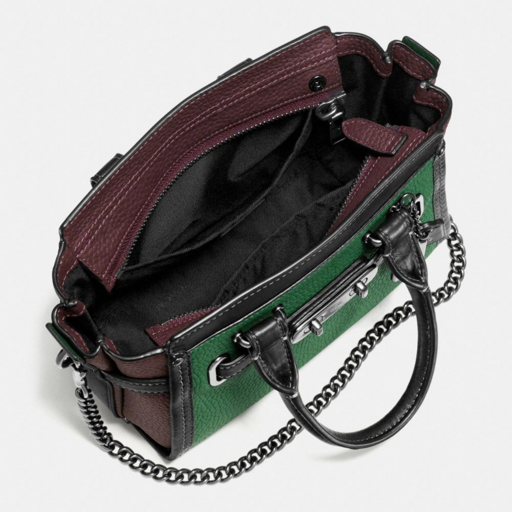 Coach Swagger 20 With Chain in Pebble Leather - Alternate View A4