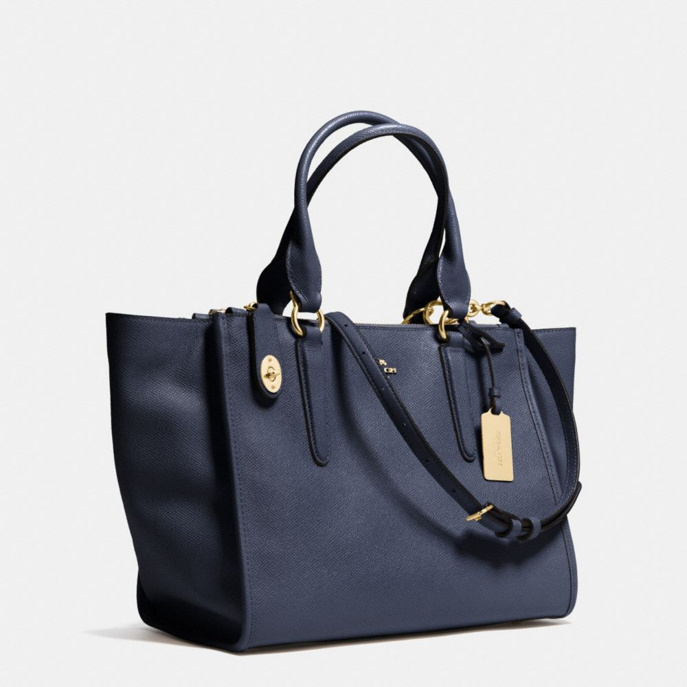 Crosby Carryall in Crossgrain Leather - Alternate View A2