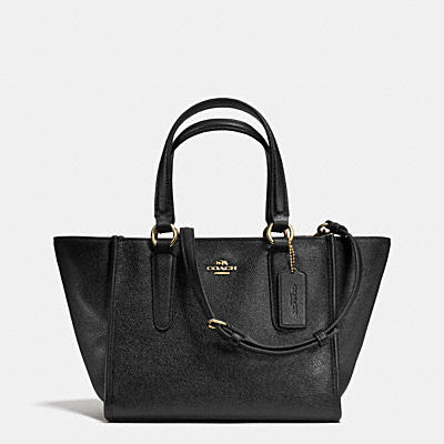 CROSBY MINI CARRYALL IN CROSSGRAIN LEATHER