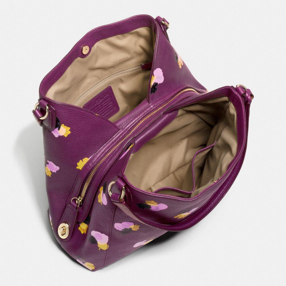 Edie Shoulder Bag 31 in Floral Print Leather - Alternate View A3