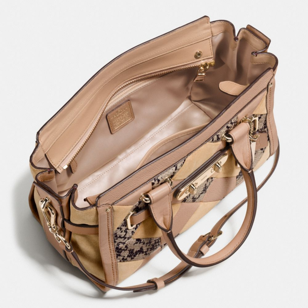Coach Swagger 27 in Patchwork Exotic Embossed Leather - Alternate View A3