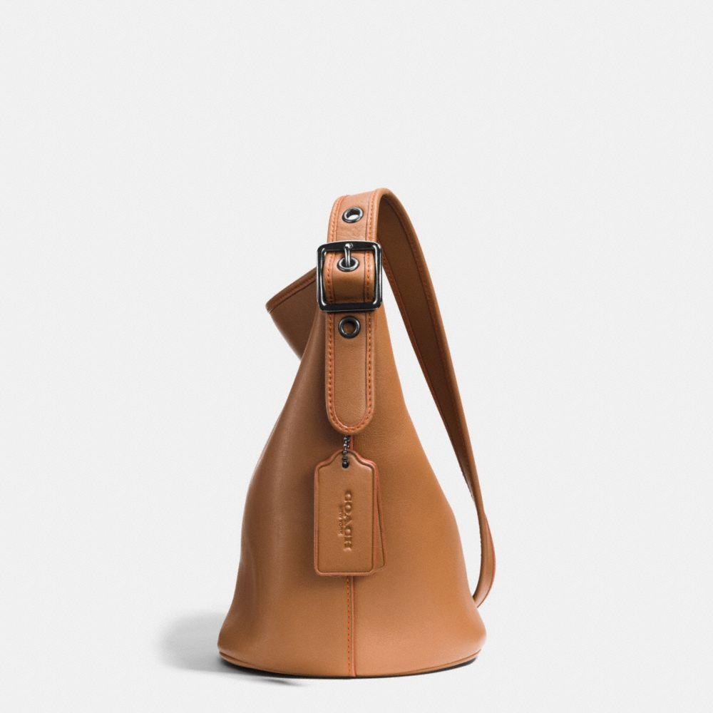 Mini Duffle in Glovetanned Leather - Alternate View A1