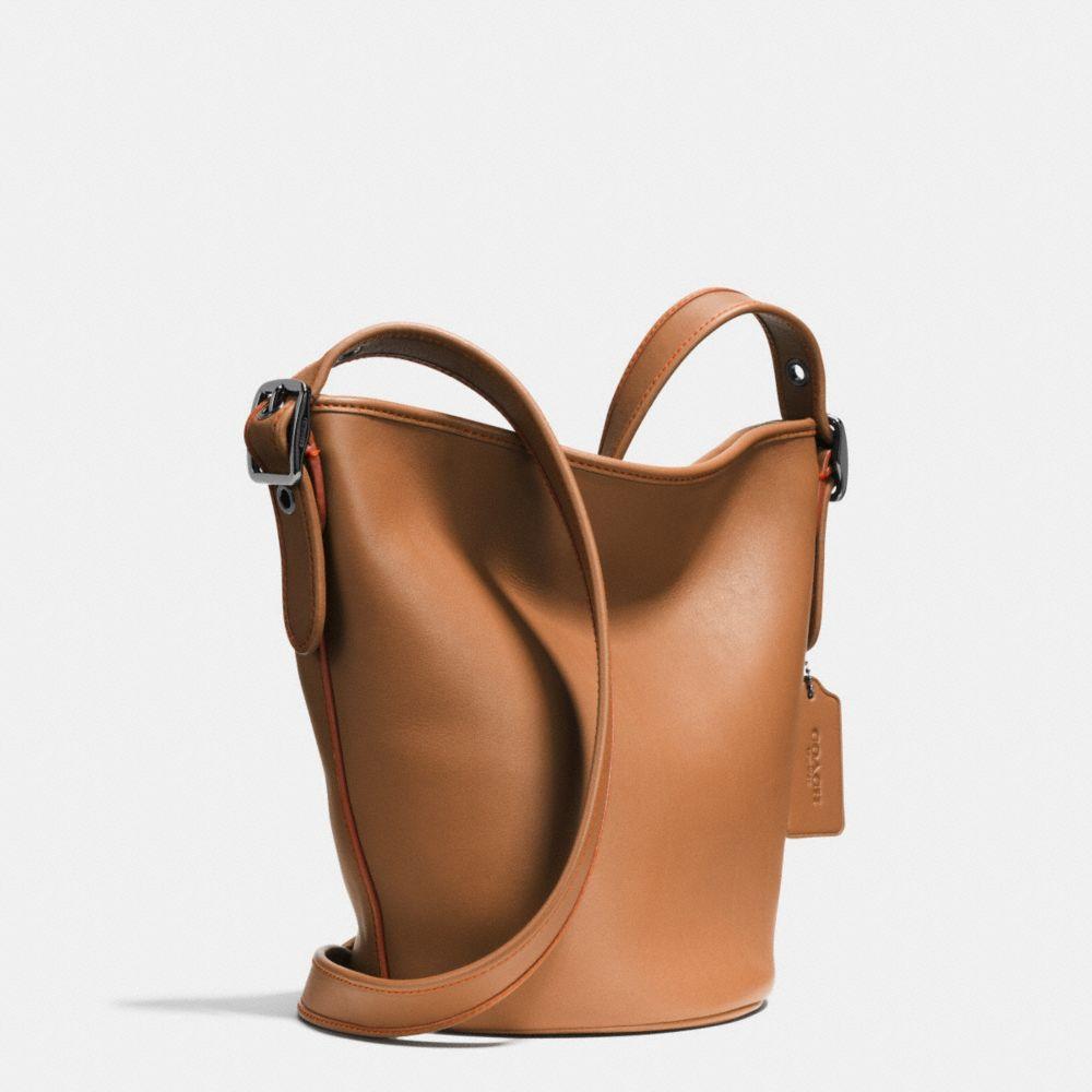 Mini Duffle in Glovetanned Leather - Alternate View A2