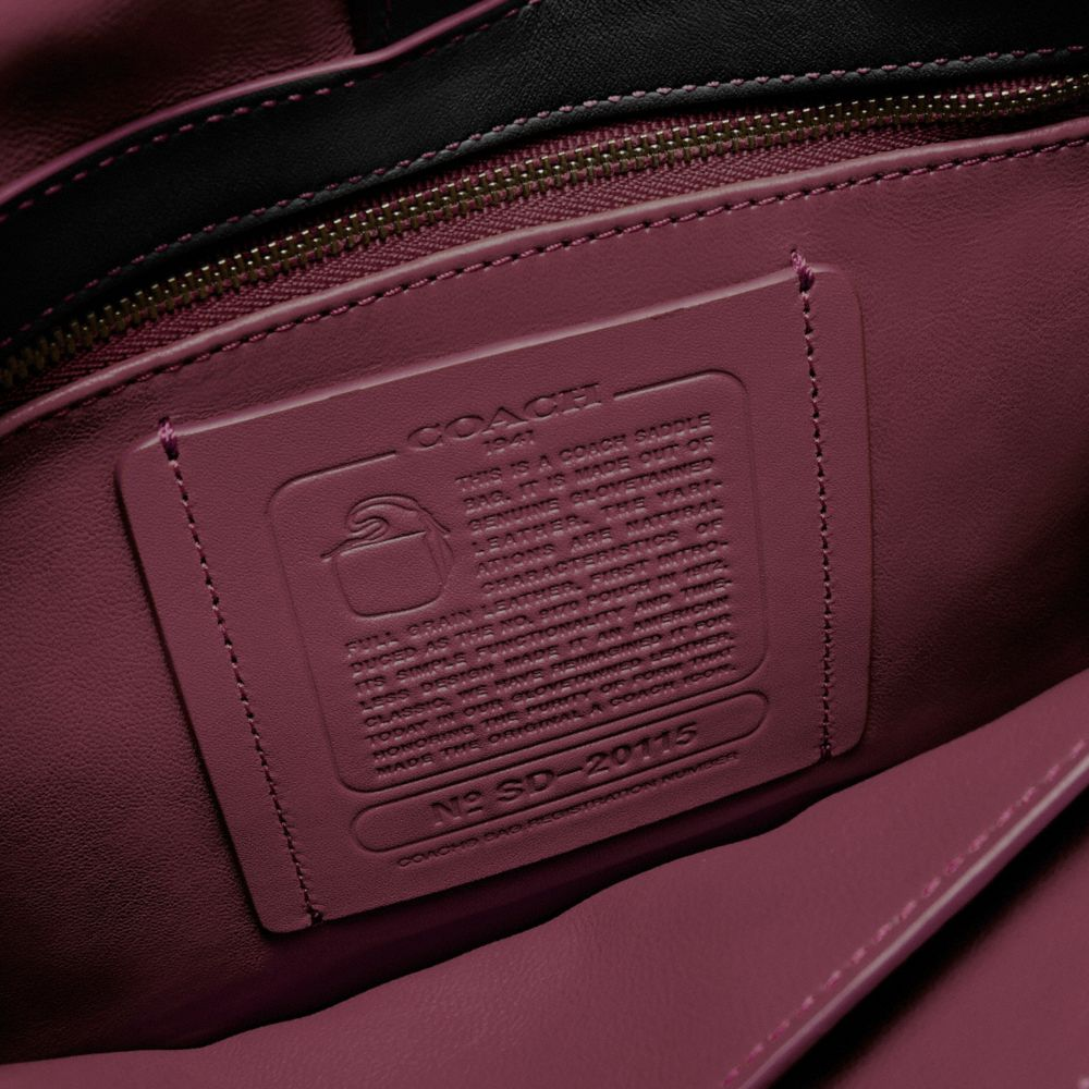 Saddle Bag in Glovetanned Leather - Alternate View A1